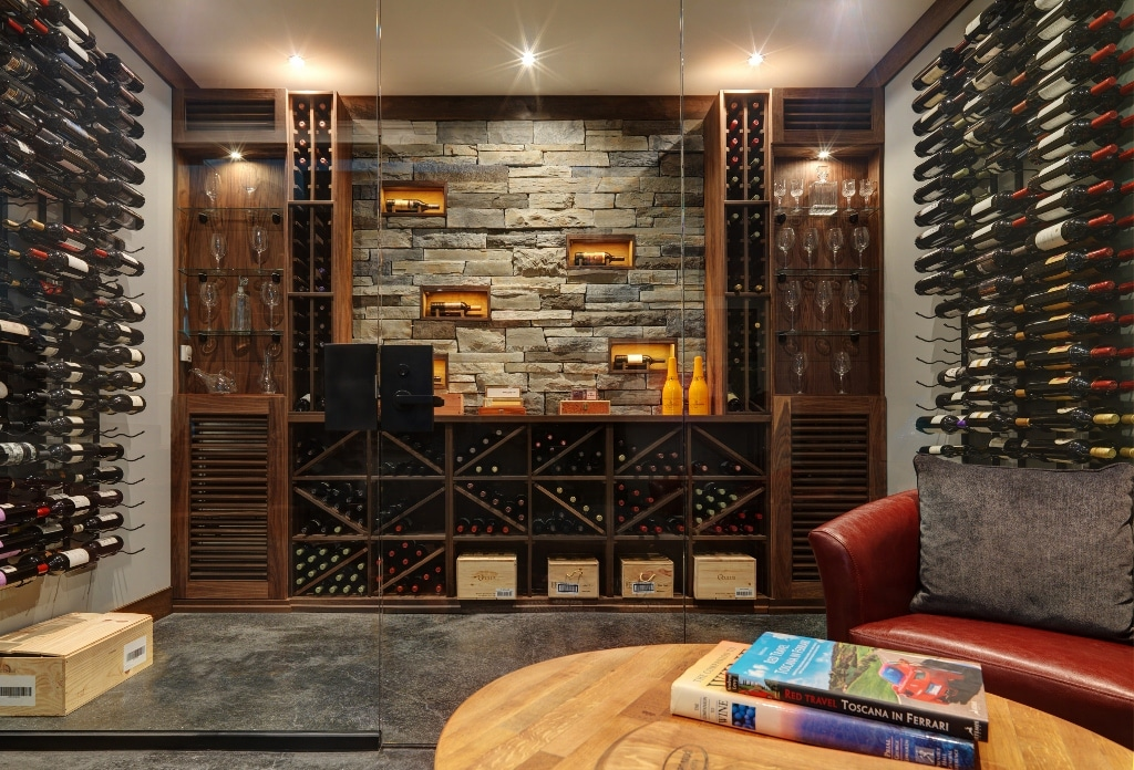 Build a wine cellar w the experts at blue grouse wine cellars for Wine cellar layout