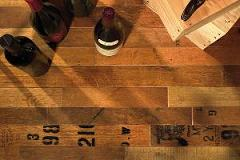Cooperage Wine Barrel Flooring Option