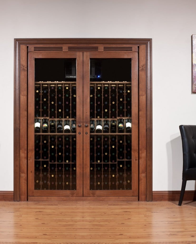 vinotheque closet wine cabinet blue grouse wine cellar. Black Bedroom Furniture Sets. Home Design Ideas