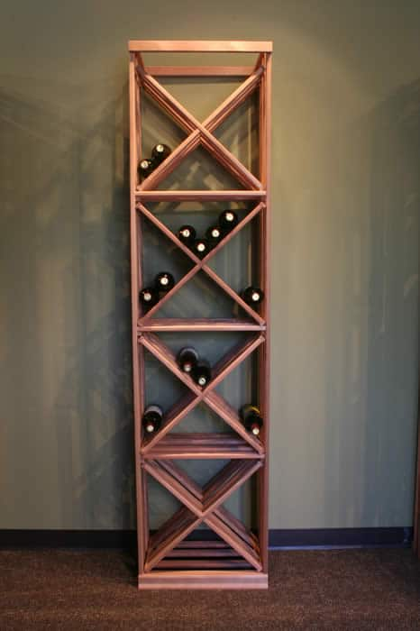 modular wine rack bins