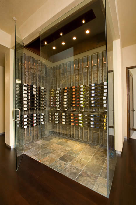 Vintage View Wine Racks - Floor to Ceiling Mounted