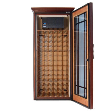 Wood Wine Cabinet - Fine Furniture Wine Storage - Mission