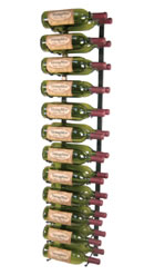 wine rack vintageview WS42Green s Vintage View Wall Mounted Wine Racks