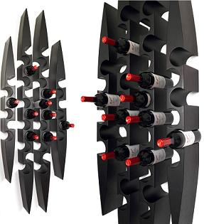 Pinna® Wall Mounted Wine Racks - Blue Grouse Wine Cellar