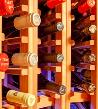 Our Clients Wine Collection is Important to us at Blue Grouse Wine Cellars