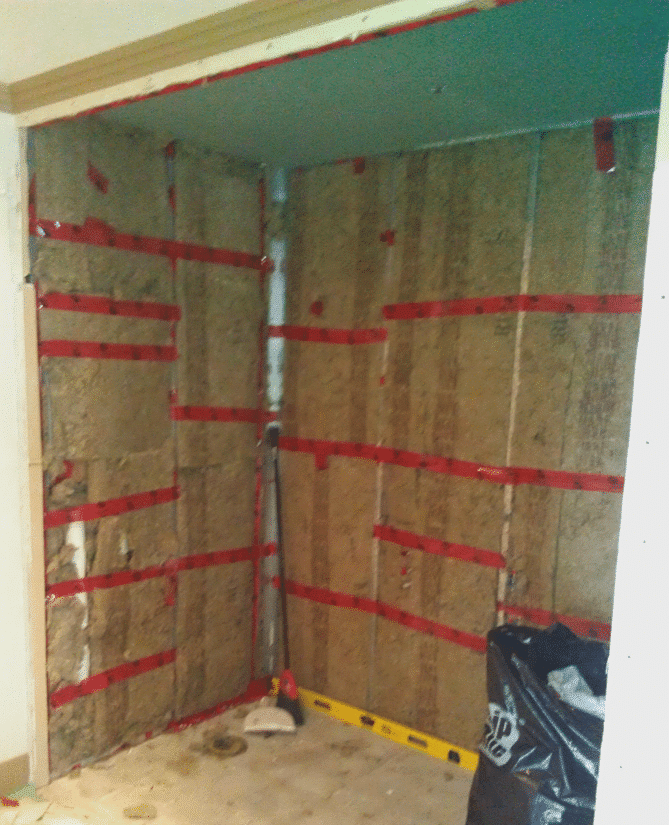 Vancouver Residential Custom Wine Cellar Insulation Install During Build