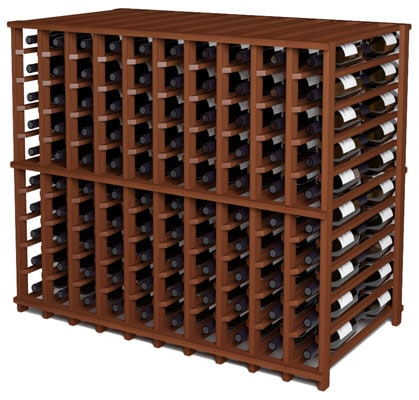Stained Wine Racking The Bodega Collection Blue Grouse